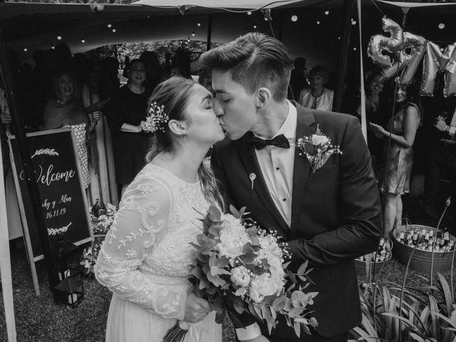 El casamiento de Victoria y Alan