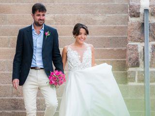 El casamiento de Ludmila y Andrés