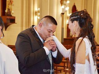 El casamiento de Silvi y Ale