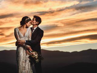 El casamiento de Flavia y Ramiro