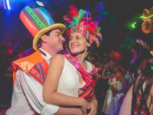 El casamiento de Cecilia y Rodrigo