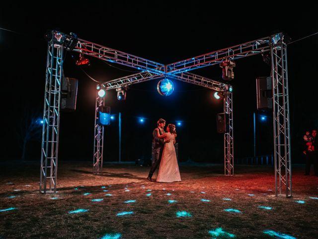 El casamiento de Nati y Juan
