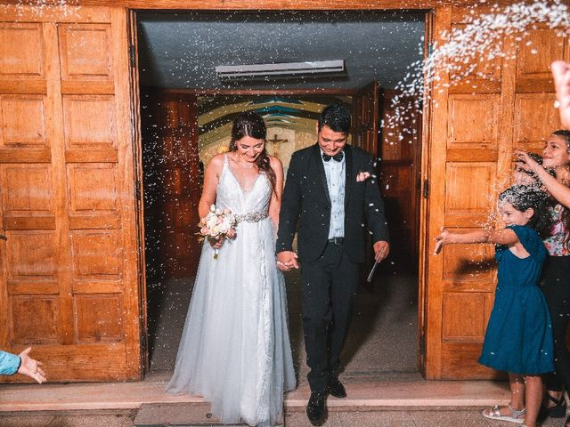 El casamiento de Erica  y Nicolás