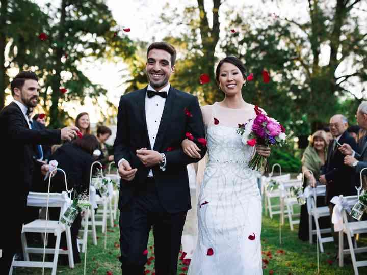 El casamiento de Virginia y Nahuel