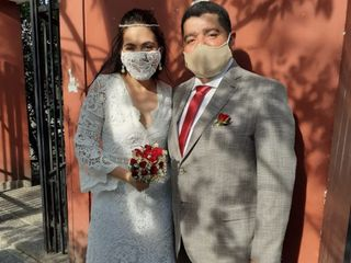 El casamiento de Viviana  y Oscar