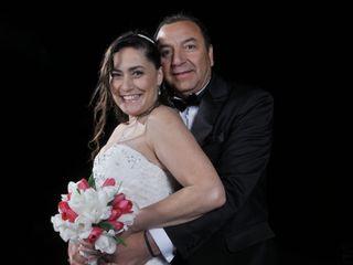 El casamiento de Melania y Rodolfo