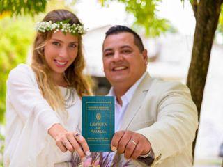 El casamiento de Evelyn y Exequiel