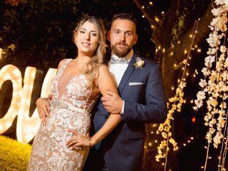 El casamiento de Lean y Marian