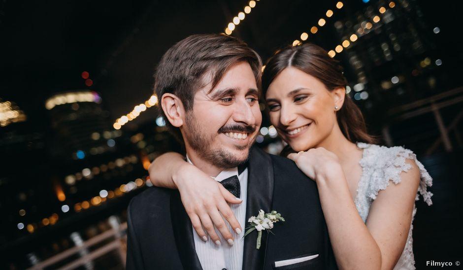 El casamiento de Santi y Ana en Puerto Madero, Capital Federal