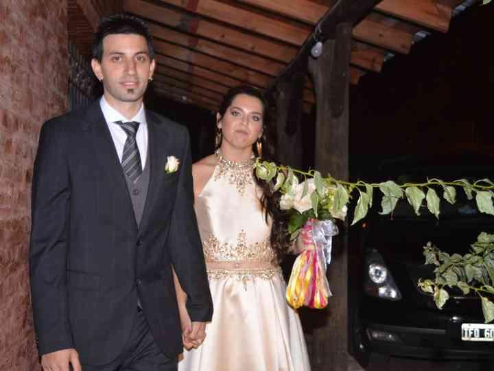 El casamiento de Romina y Ale