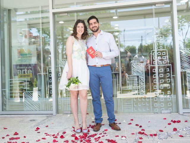 El casamiento de Gisela y Pablo