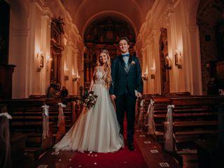 El casamiento de María Virginia y Felipe