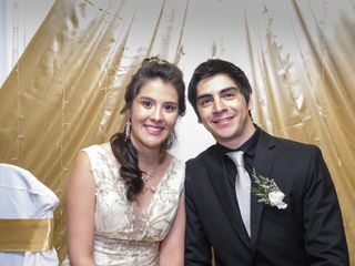 El casamiento de Fabricio  y Noelia