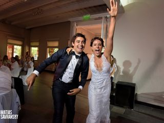 El casamiento de Daniela y Agustin