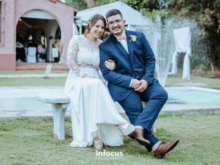 El casamiento de Andrés y Mica