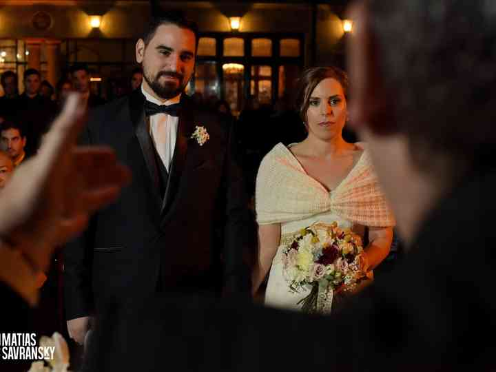 El casamiento de Caro y Kike