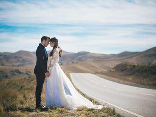 El casamiento de Heliana y Franco