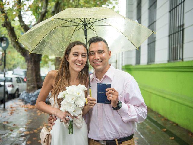 El casamiento de Luciano y Débora en La Plata, Buenos Aires 1