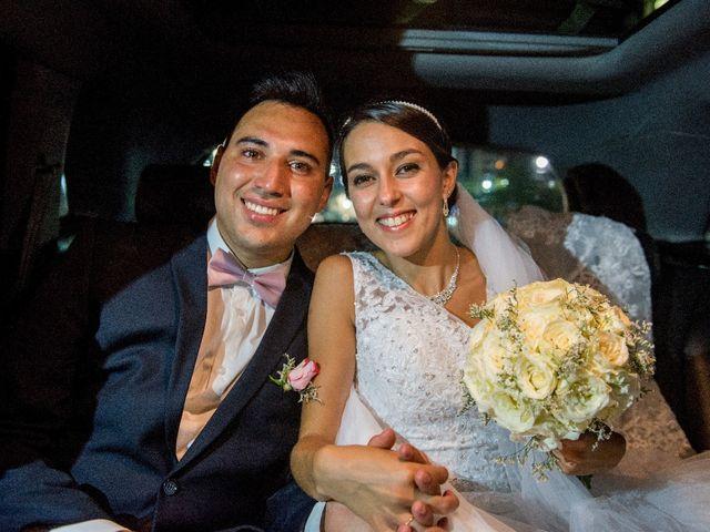 El casamiento de Débora y Luciano