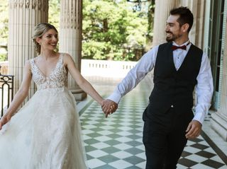 El casamiento de Angie y Martín