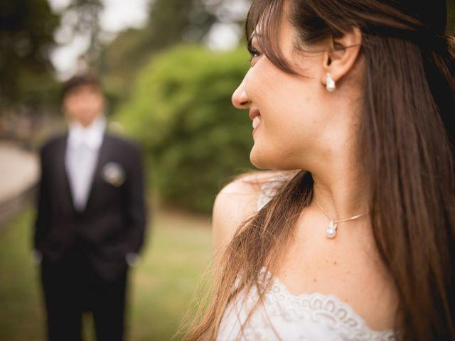 El casamiento de Andrea y Matias