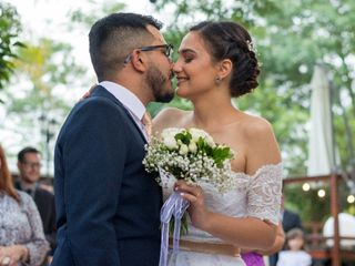 El casamiento de Josías  y Abril
