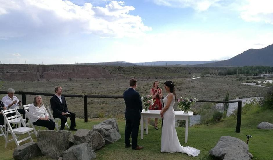 El casamiento de Reinhard  y Gabriela  en Cacheuta, Mendoza