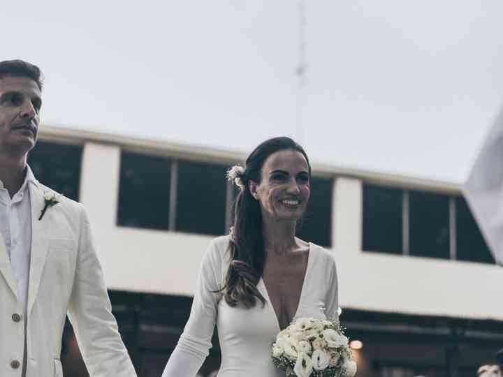 El casamiento de Cele y Óscar