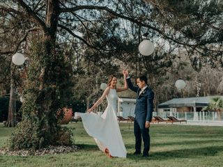 El casamiento de Lilian y Flavio