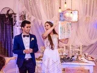 El casamiento de Micaela y Aarón