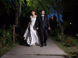 El casamiento de Hebe y Martin