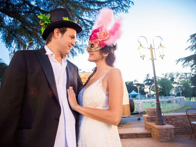 El casamiento de Vir y Gon
