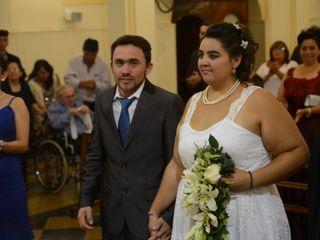 El casamiento de Gise y Mauro