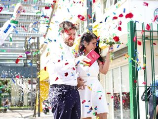 El casamiento de Yanu y Juanma