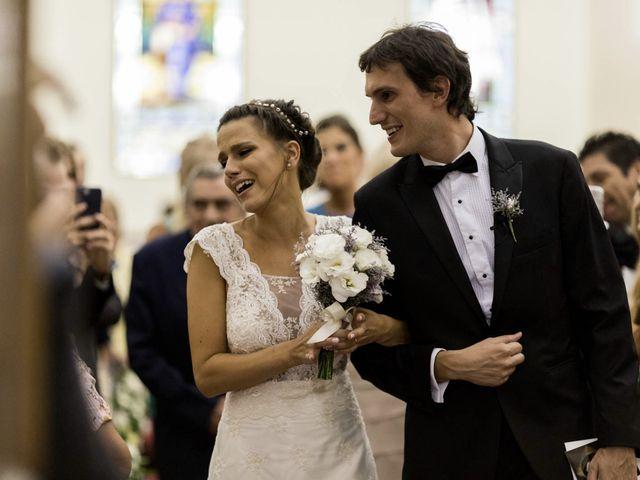 El casamiento de Belén y Leandro