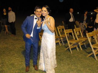 El casamiento de Fabi y Carlitos