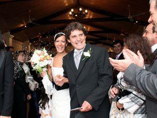 El casamiento de Josefina y Federico