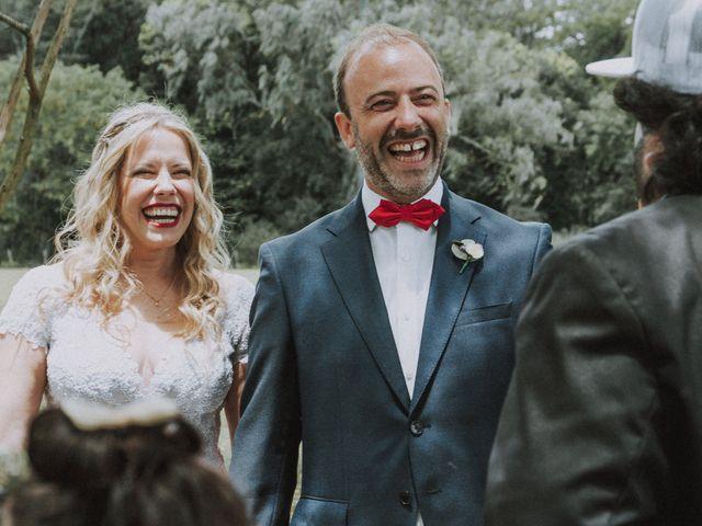 El casamiento de Victoria y Augusto