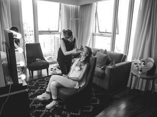 El casamiento de Belu y Marce 1