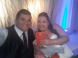 El casamiento de Sandy y Juan