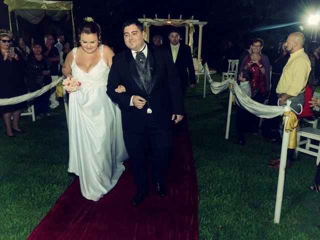 El casamiento de Macarena y José