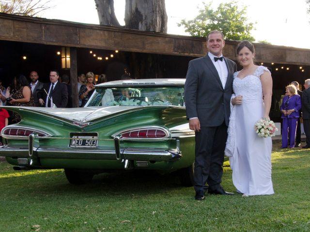 El casamiento de Luisina y Abel