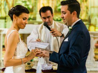 El casamiento de Gise y Nico