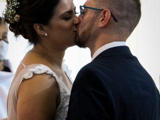El casamiento de Agostina  y Martin