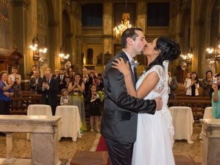 El casamiento de Giselle  y Carlos