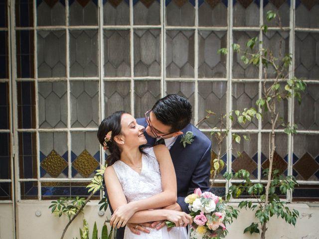 El casamiento de Virginia y Jorge