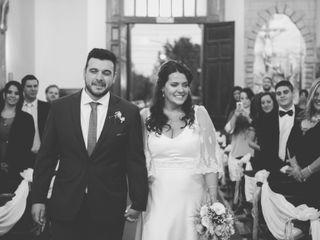 El casamiento de Daniela y Fernando