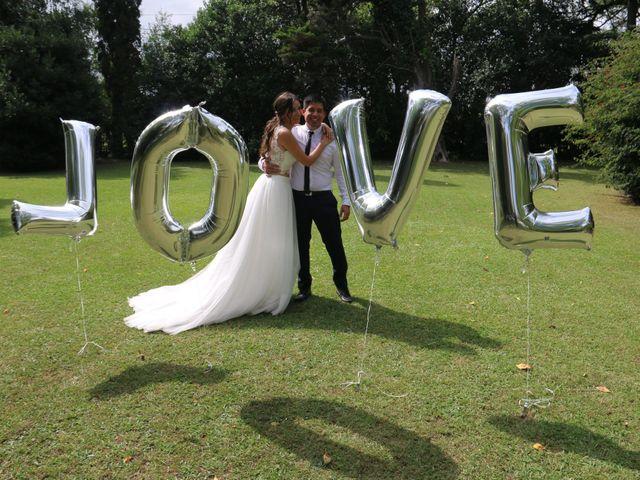 El casamiento de Melina y Rodrigo