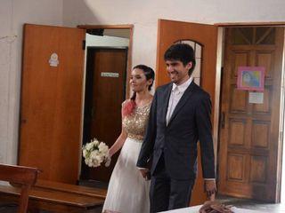 El casamiento de Alina y Nicolás