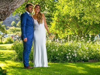 El casamiento de Débora y Julían